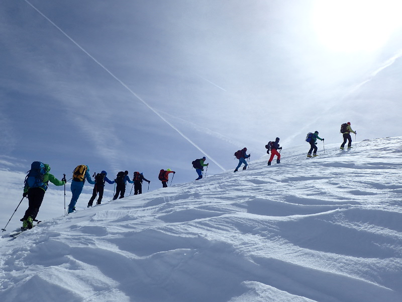 Symbolfoto Skitouren