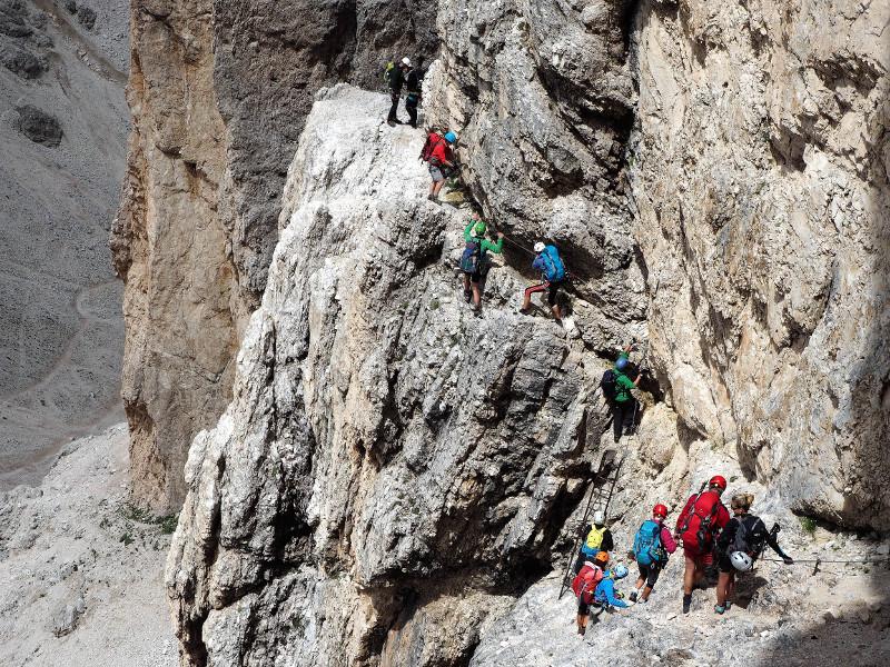 Symbolfoto Klettersteige