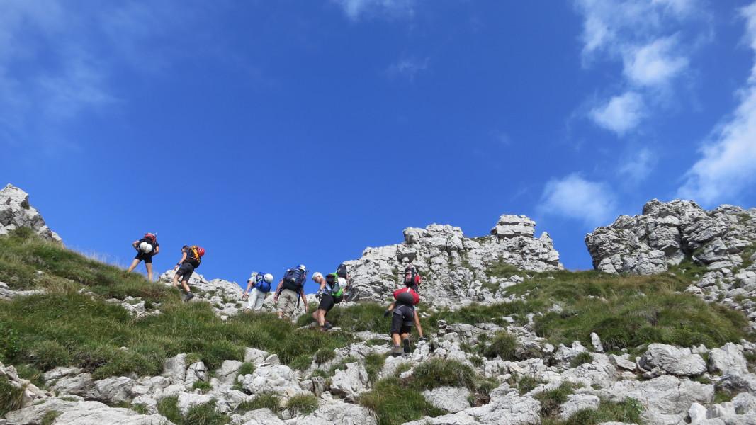 Sommertour Bergell - kombinierte Wander- und Klettersteigtour von Hütte zu Hütte