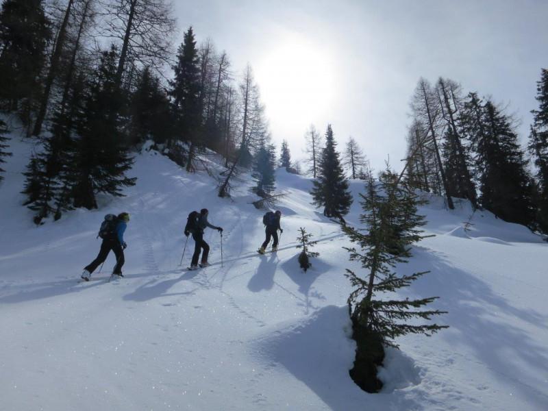 Skitourenwoche im zentralen Osttiroler Ort Sillian