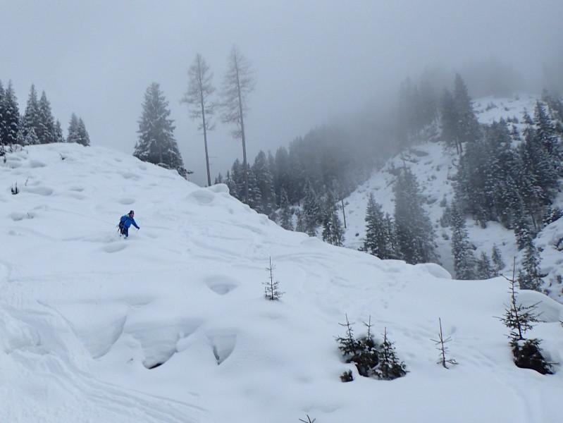 Schifahren im Gelände für TourenfahrerInnen